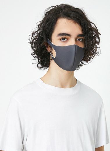 Koton Yikanabilir Maske Gri